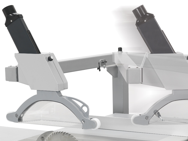 The new FELDER overhead saw guard
