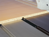 "To use a grooving cutter ""Dado cutter"""