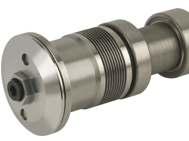 Circular saw shaft