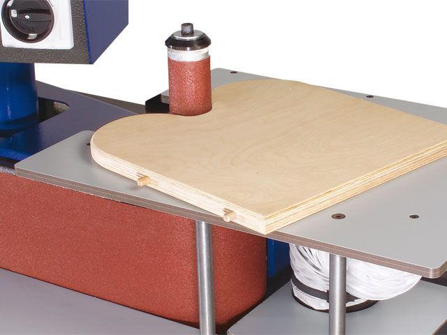 Additional Table and Tensioning Spindle