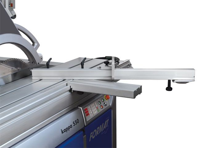 Sliding Table Saw Attachment Kappa 550 e-motion panel saw - FORMAT-4 woodworking machines